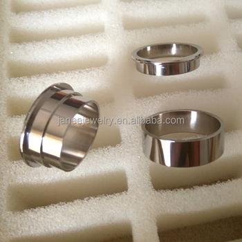 Piece Titanium Ring Blanks