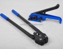 Blue plastic-steel packing combination pliers with tightener