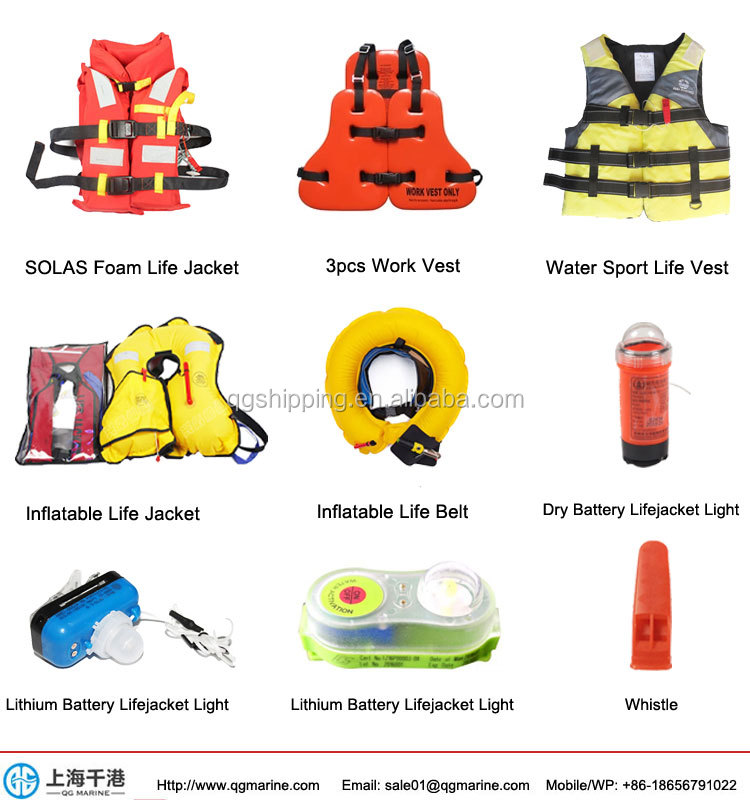 SOLAS แพ็ค 20 คน Throw Overboard Inflatable Life Raft