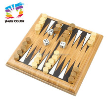 Wholesale intelligent wooden backgammon chess toy for adults and kids play fun W11A070