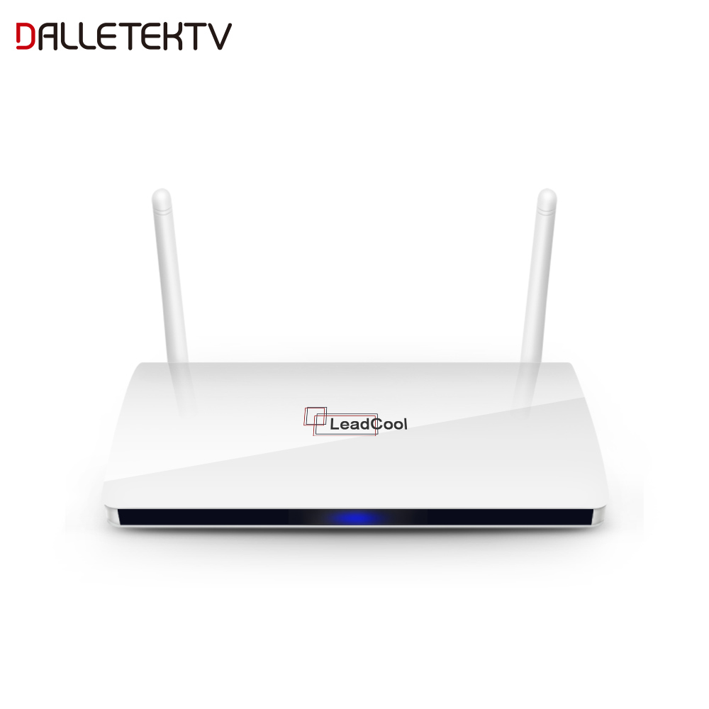 Leadcool Internet Arabe 4 k Ultra HD 3840x2160 IPTV DÉCODEUR de télévision Intelligente Android 8.1