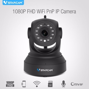 Wireless IR-Cut Night Vision Indoor zigbee ip camera