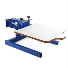 Brand New 1 Color 1 Station Silk Screen Printing Machine Press T-Shirt Printing