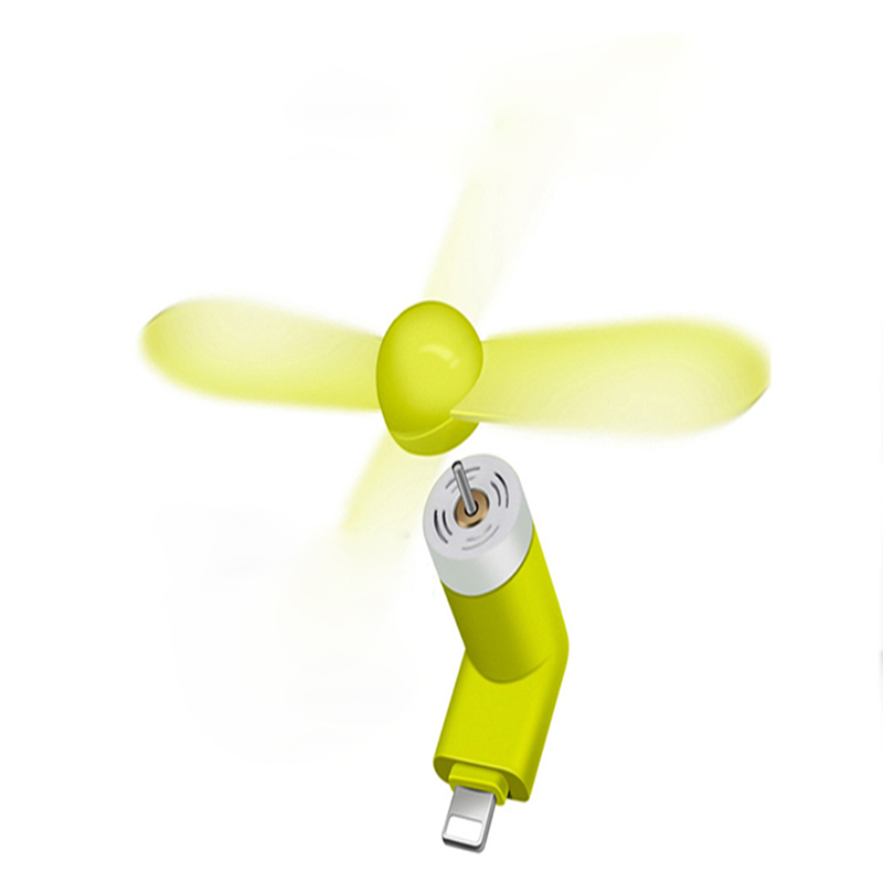 Rechargeable Mini Portable Fan , Mini USB Fan For Phone