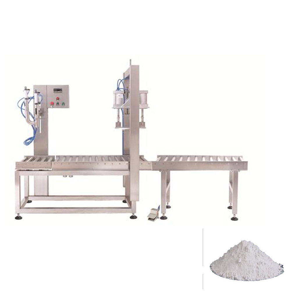 semiauto auger powder filling machine for bag pouch or bottle or aluminum can filling line with servo motor controlling