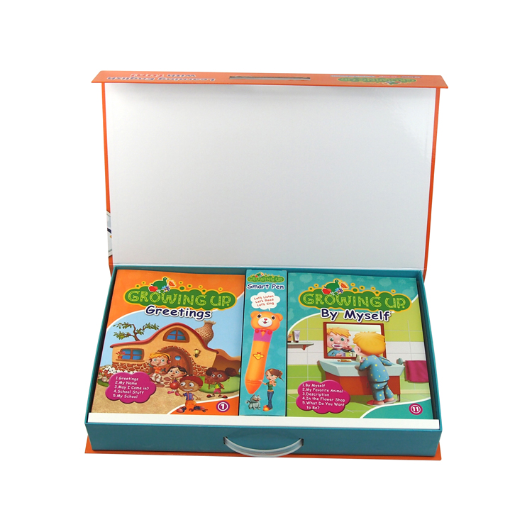 <strong>Talking</strong> <strong>Pen</strong> and Children English Learning Books with Musical Background for English Beginners