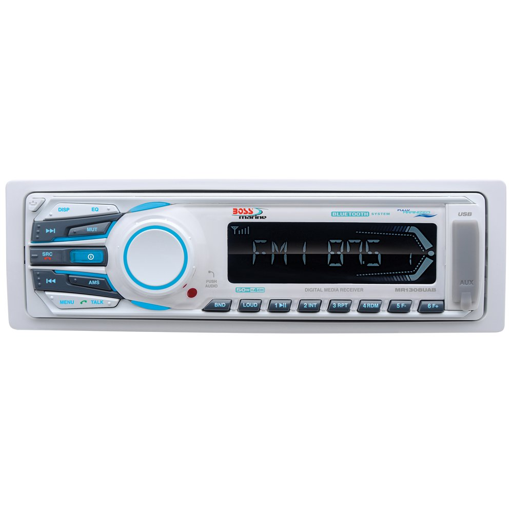 Boss Audio MR1308UAB MP3/AM/FM/USB/SD Bluetooth Receiver