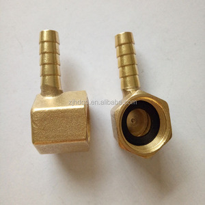 brass elbow hose pipe fittings copper female elbow all sizes can custom-made