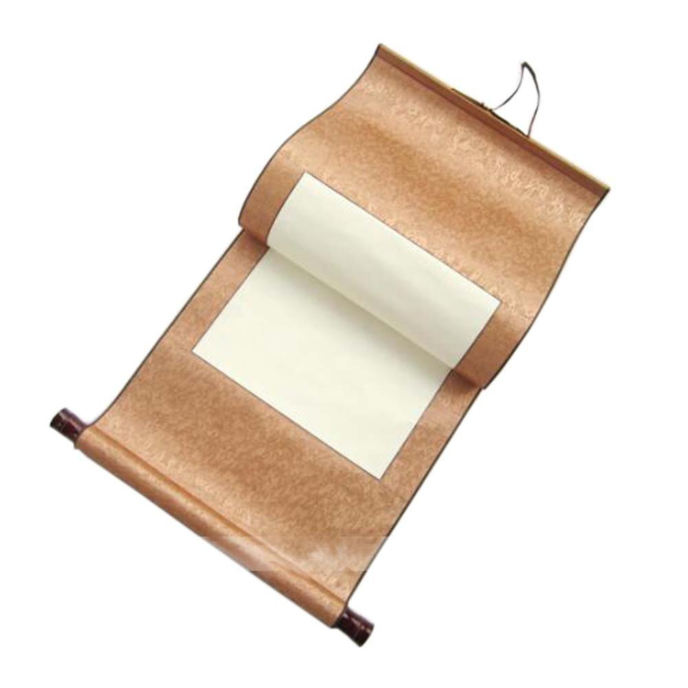 Delicate Painting Hanging Scrolls Calligraphy Supplies Asian Scroll Creative Gift, B