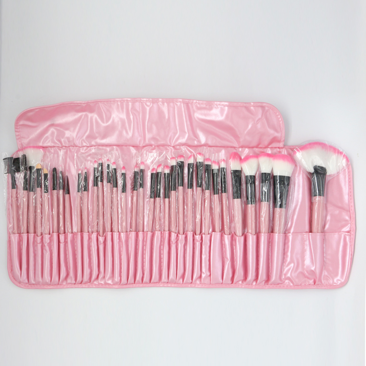 32Pcs Makeup Brush Sets Professional Cosmetics Brushes Set Kit Pouch Bag Case Woman Make Up Tools