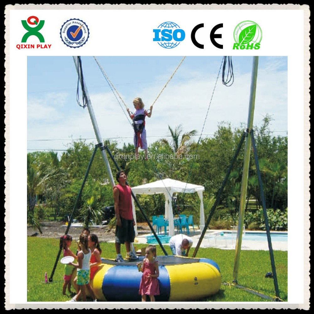 Guangzhou lowest price reverse bungee jumping for kids play(QX-122D)