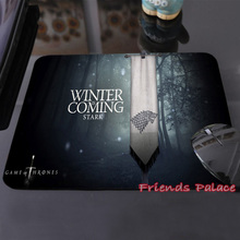 "High Quality Customized Mouse Pad ""Game of Thrones"" Stark Winter is Coming Computer Notebook Durable Non-slip  Mice Mat"