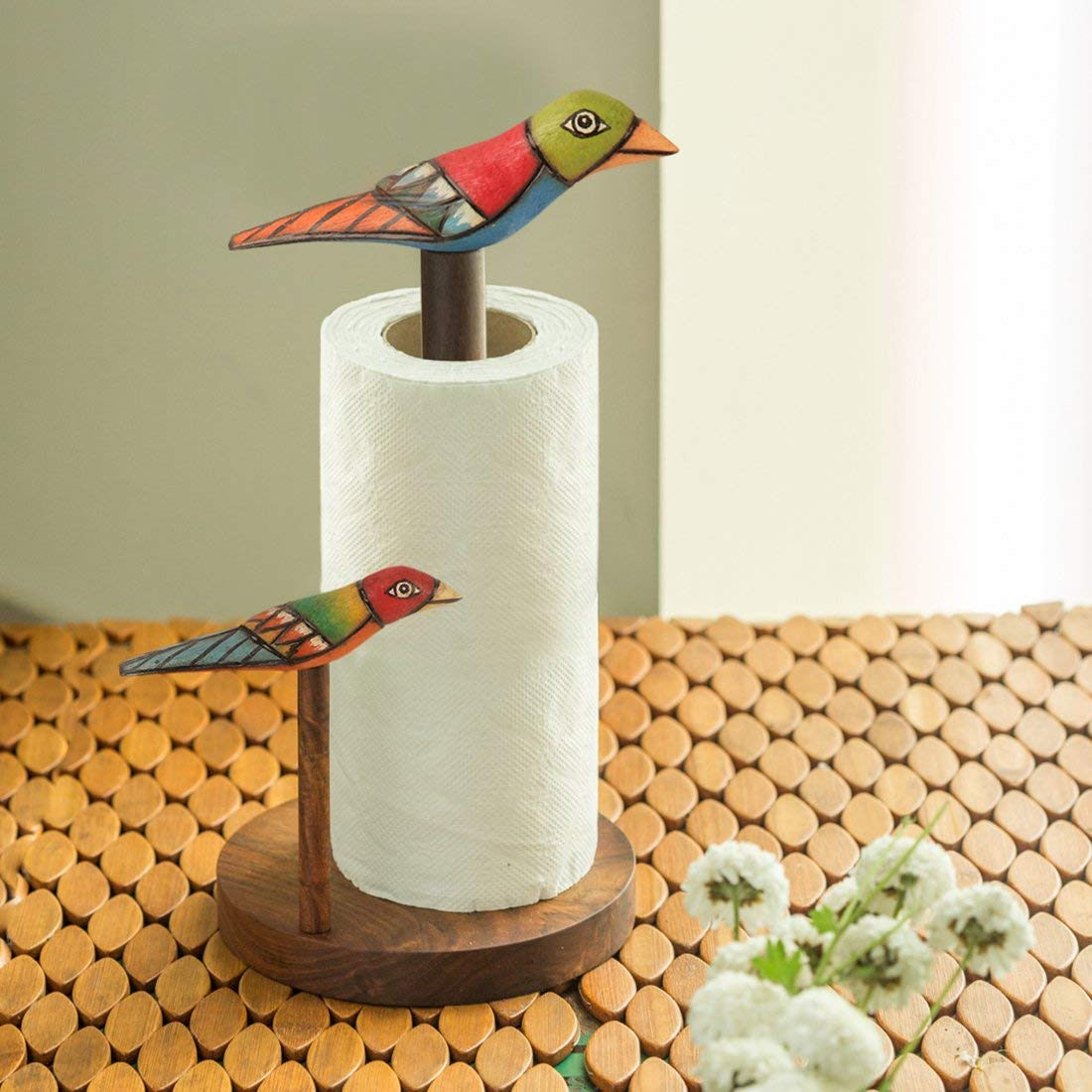 Star Home Bird and Branches 1-Piece Napkin Ring