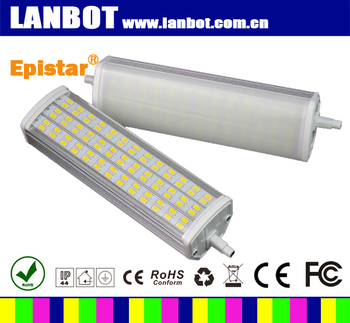 25w 118mm r7s led newest designs built in dissipate heat for R7s led 78mm 100w