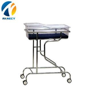 AC-BB005 Hot Sale Newest Cheap Safe Durable hospital Plastic Baby Bed cot in turkey