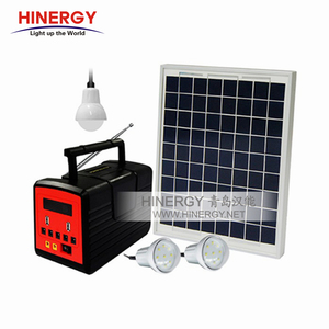 Portable Solar Power Cooling Dc Fan Home Lighting System With Mobile Charger