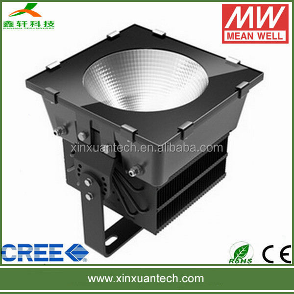 PF>0.95 500w equivalent led flood light comparable motion detector floodlight for basketball filed