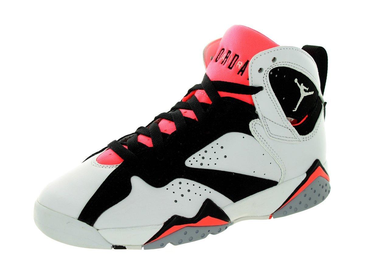 online retailer 17687 fc767 Get Quotations · Nike Air Jordan 7 Retro GG 442960-106 White Black Hot Lava  Kids