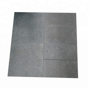 Wholesale Driveway High Quality Black Flamed Granite Paving Stone