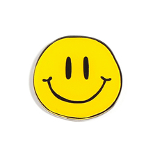 Acrylic Fridge Magnet Round Yellow Emoji Smiley Diy Fridge Magnets