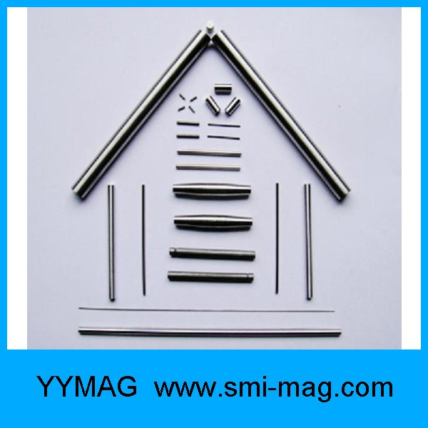 strong long thin magnets FeCrCo magnet rod magnet for sale