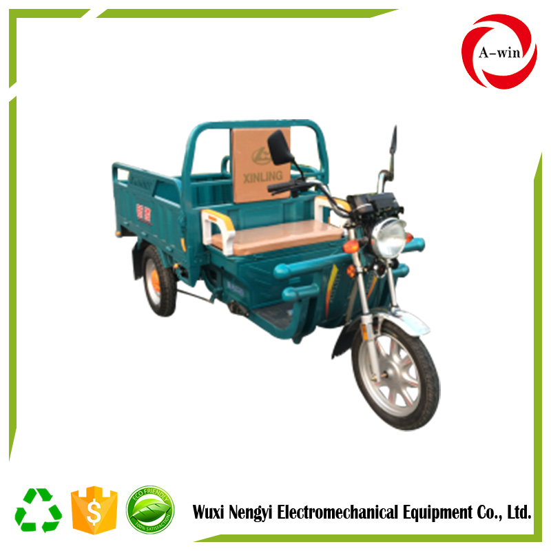 2017 NEW CHINA Three Wheel electric tricycle 850W48V trecycle