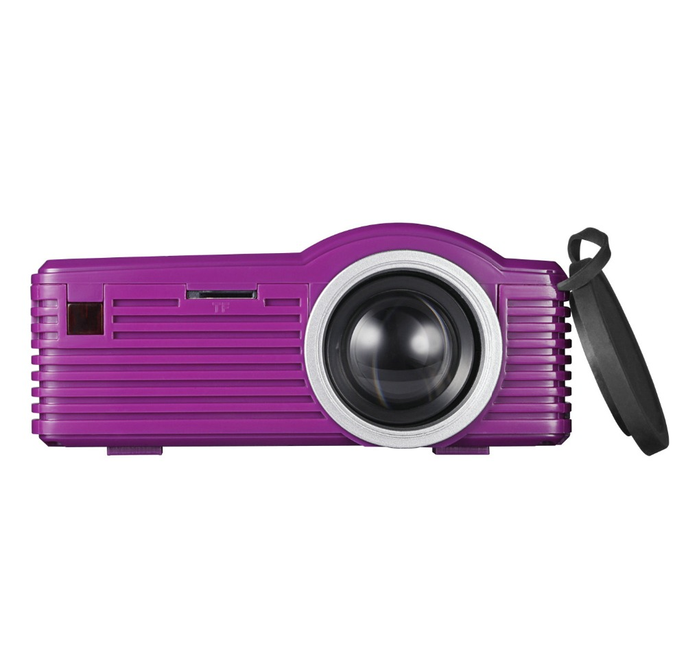 High Quality Low Cost Portable mp4 video player projector HD Home Laser TV Projector