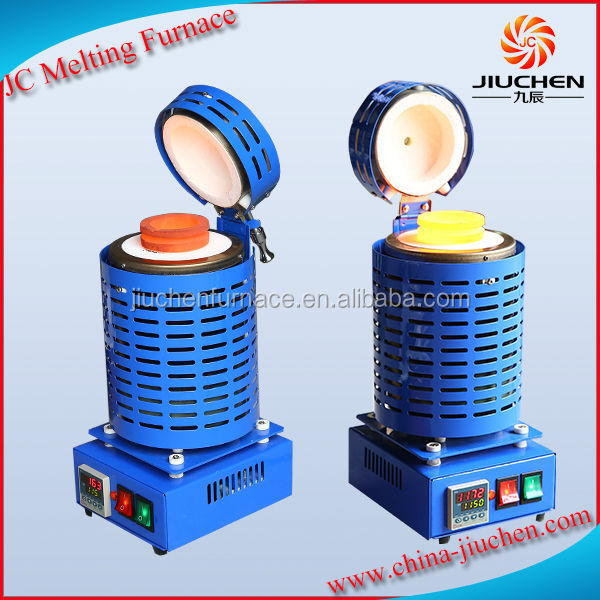 JC New Hot Sale Jewelry Tools 1-4kg small electric gold melting furnace