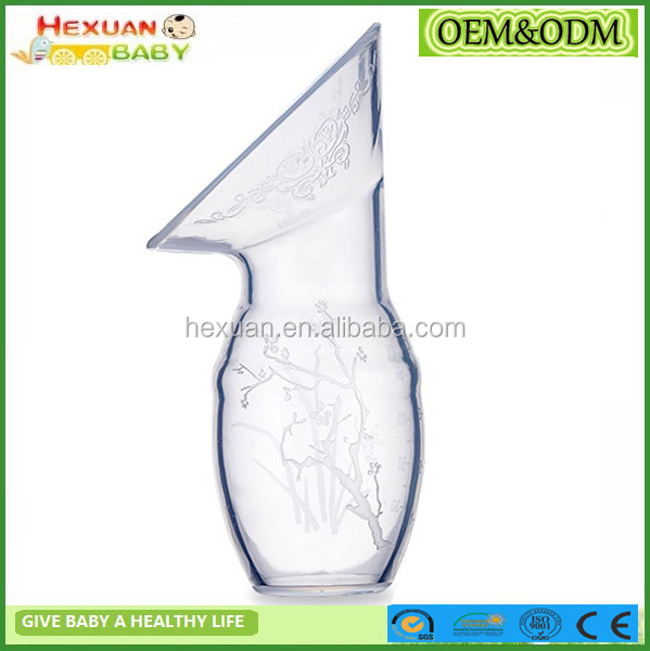 manual breast pump/Silicone milk collector/suction pacifier