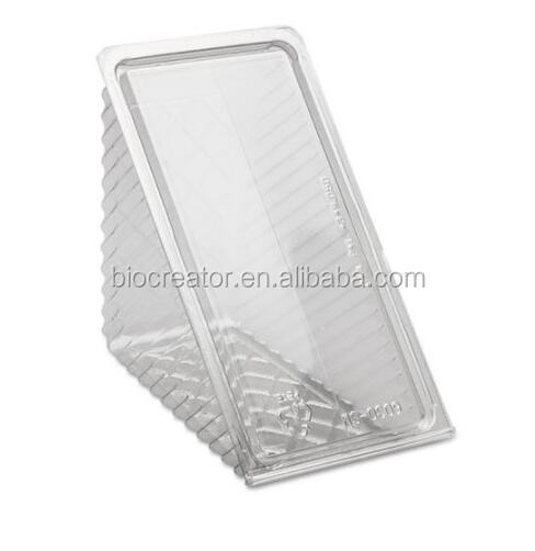 Clear Seal Sandwich Container With Clear Hinged Lid, Take Out Pastry Dessert Fruit Salad Deli Food Disposable Containers
