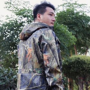 Mens Hunting Jacket Soft Shell Military Tactical Jacket with Camouflage Outer Coat Waterproof Jacket for Outdoor Camping Hiking