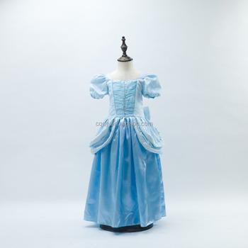 2015 Nueva Niñas Cenicienta Vestidos Blancanieves Princesa Vestidos Rapunzel Aurora Embroma La Ropa Del Traje Del Partido Buy Cenicienta Princesa
