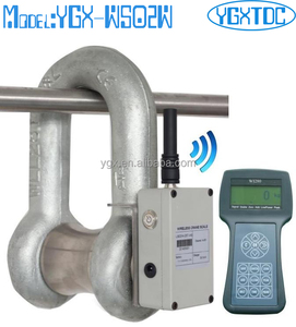 Wireless load cell shackle