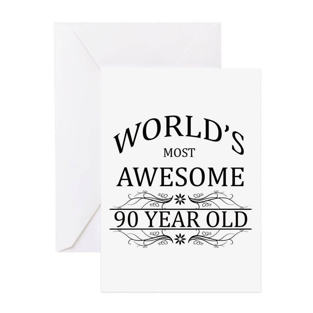 Cheap note card crafts find note card crafts deals on line at get quotations cafepress worlds most awesome 90 year old greeting card greeting card note card bookmarktalkfo Image collections