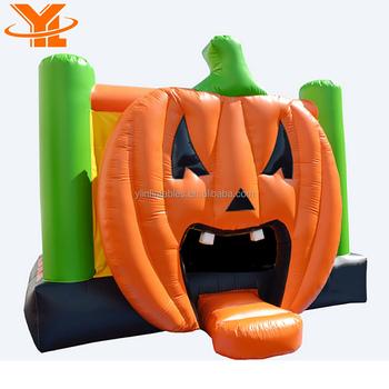 moonwalk inflatable halloween haunted house pumpkin bouncers for halloween inflatable bouncy games for kids