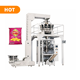 Chin chin snack food packaging machine automatic puffed keropok chips packing machine with nitrogen multi heads weigher