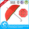 Fruit Heat Transfer Printing Straight Custom Umbrella
