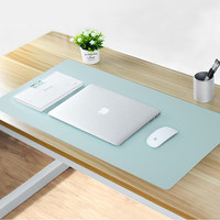 Wholesale High Quality Soft PU Leather Table Writing Mat Custom office Desk Pad