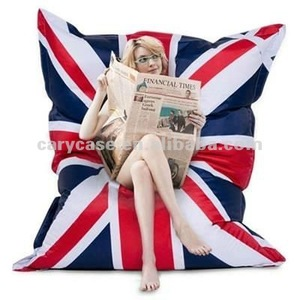 union jack beanbag, english flag beanbag, UK flag bean bag