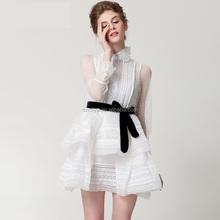 reputable site 60b67 5d3a9 Promozione Bianco Vestito A Palloncino, Shopping online per ...