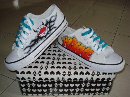 Zapato de graffiti