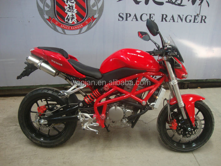 Two wheeler High quality Gas Powered 300cc Racing Bike for sale