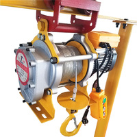 Good Quality Factory Price Construction Concrete Lifting Machine Small Mini Lift Electric Winch Hoist
