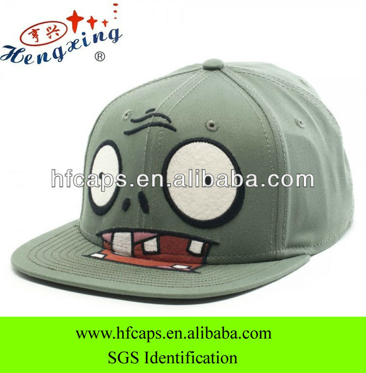 Cartoon applique fashion baby snapback hat custom tisa snapback hats