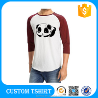 Softtextile 3/ 4 Sleeve T Shirt Wholesale China Golf Tee Baseball Tee Cheap Price