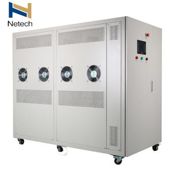 150G 200G  Water Cooling PLC Touch Screen  Intelligent Complete Ozone Machine for Recirculating Aquaculture System