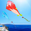 Popular large custom printed kite cheap soft kites