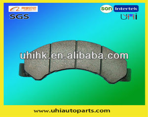 Auto Brake Pads D825-7697 for Car ISUZU-Commerical (USA) NPR Series,ELF(NKR),ELF NJR,MAZDA-Titan,NISSAN-Civilian,TOYOTA-Dyna