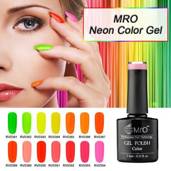 Nail Polish Brands Lvmay Soak Off Gel One Step Uv Neon Color Esmalte