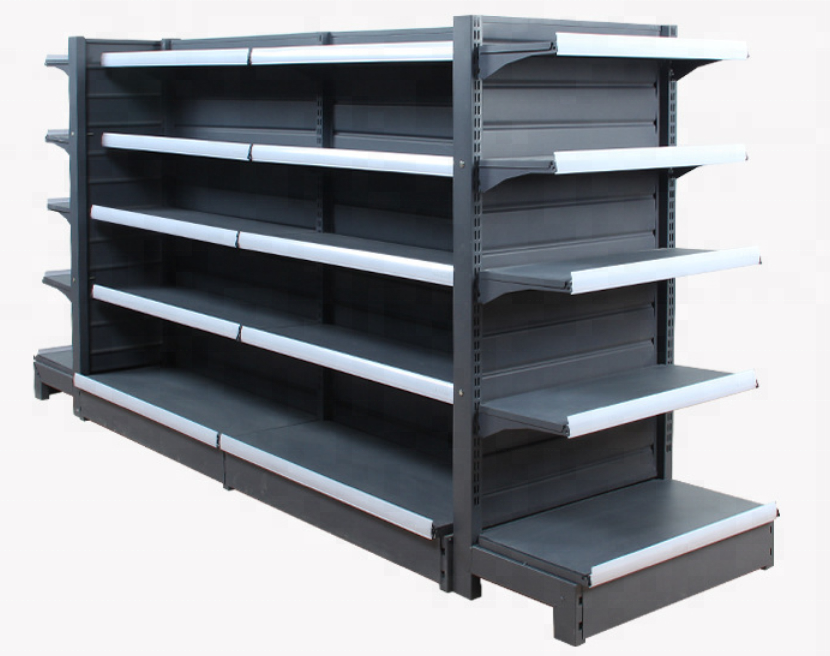 <strong>Retail</strong> used to market metal shelving rack gondola supermarket shelf